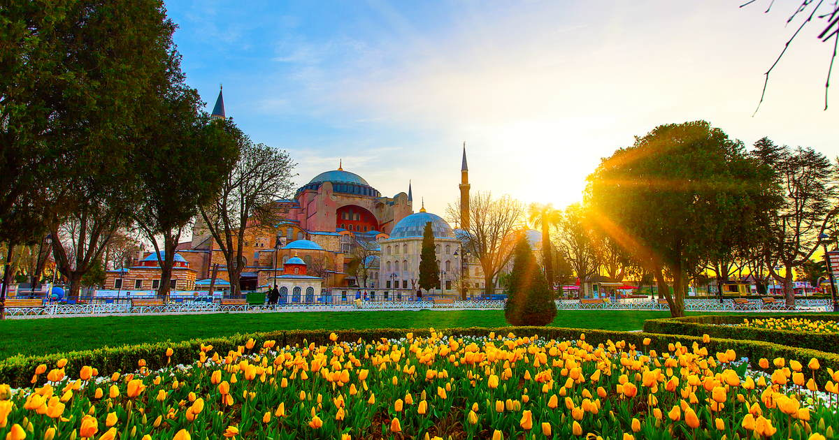 Hagia Sophia Holy Wisdom in Istanbul