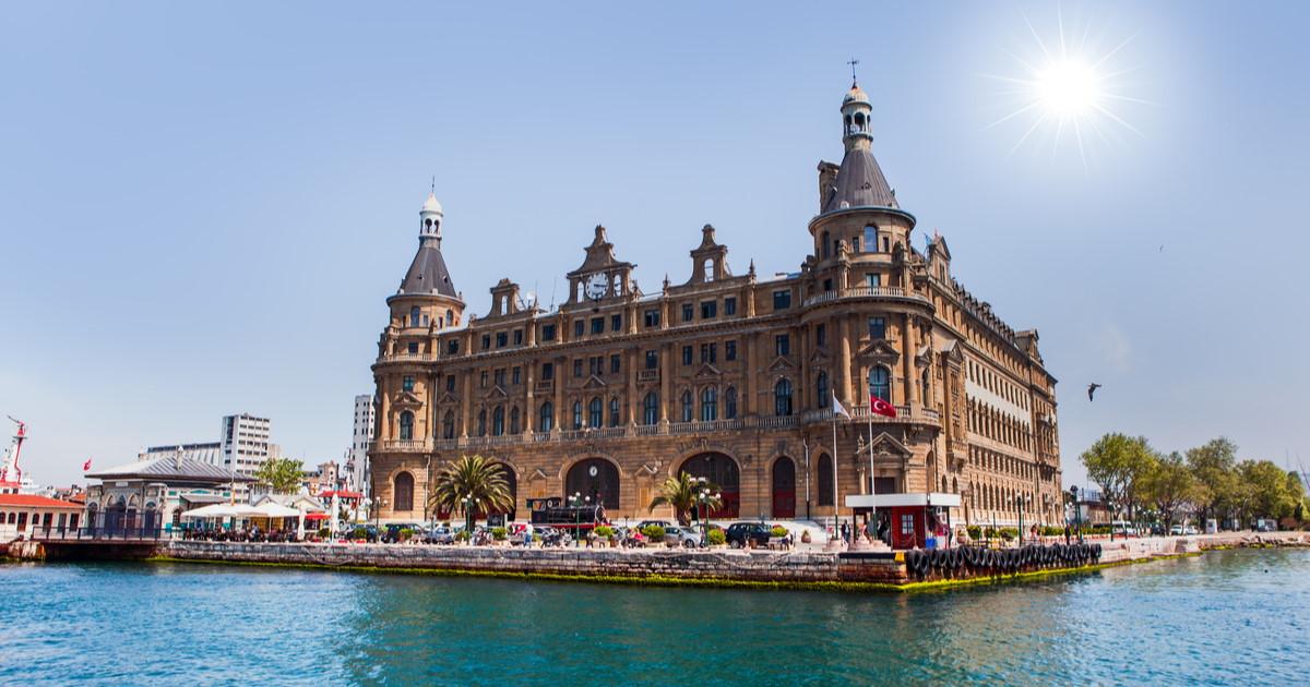 Haydarpasa Train Station in Istanbul