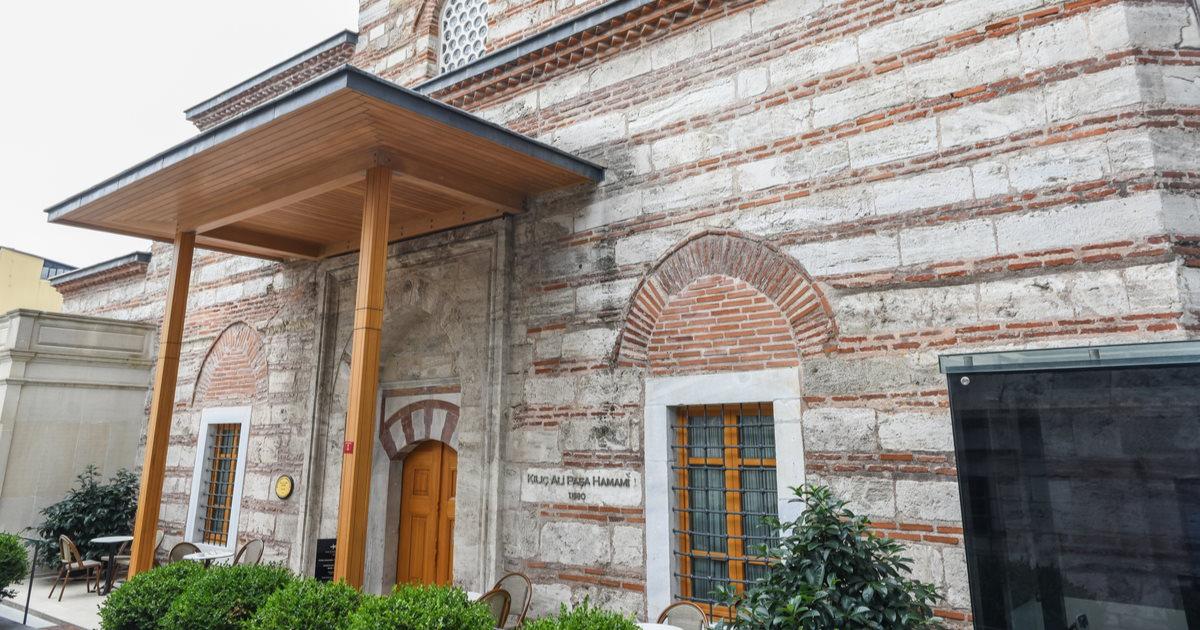 Kılıç Ali Paşa Hamam in Istanbul in Turkey