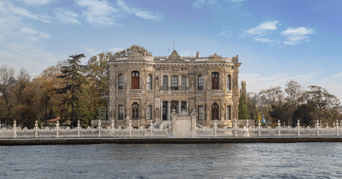 Küçüksu Pavillion in Istanbul