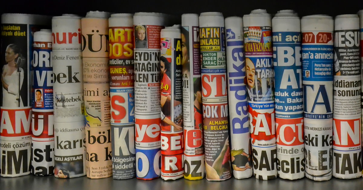 Newspapers and magazines in Istanbul