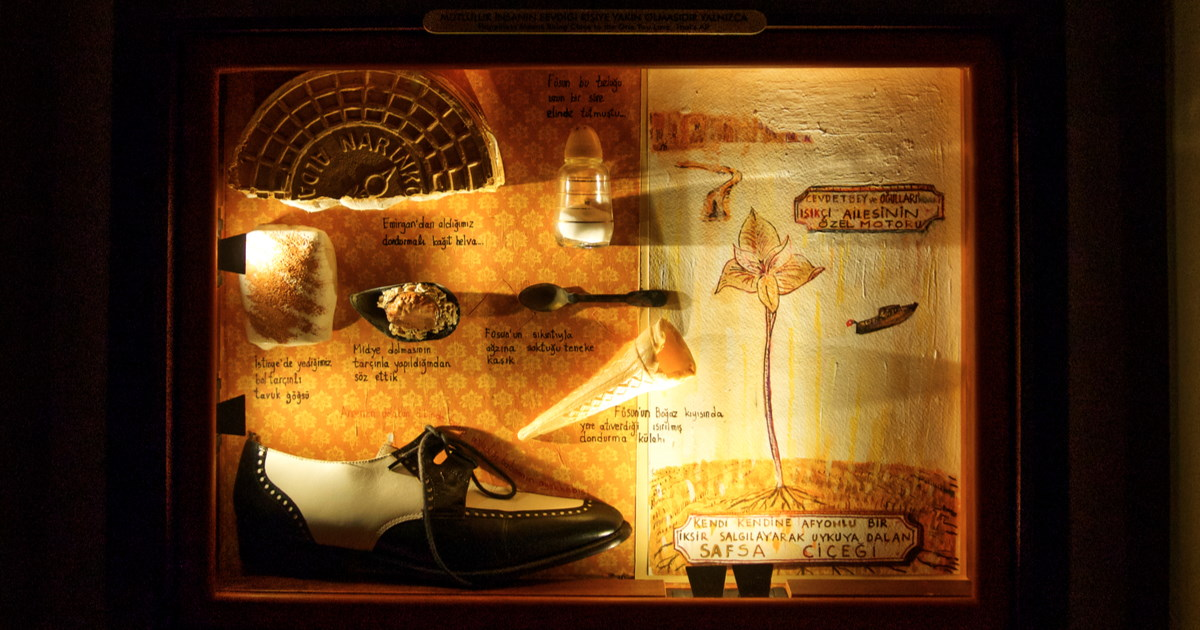 Orhan Pamuk's Museum of Innocence in Istanbul