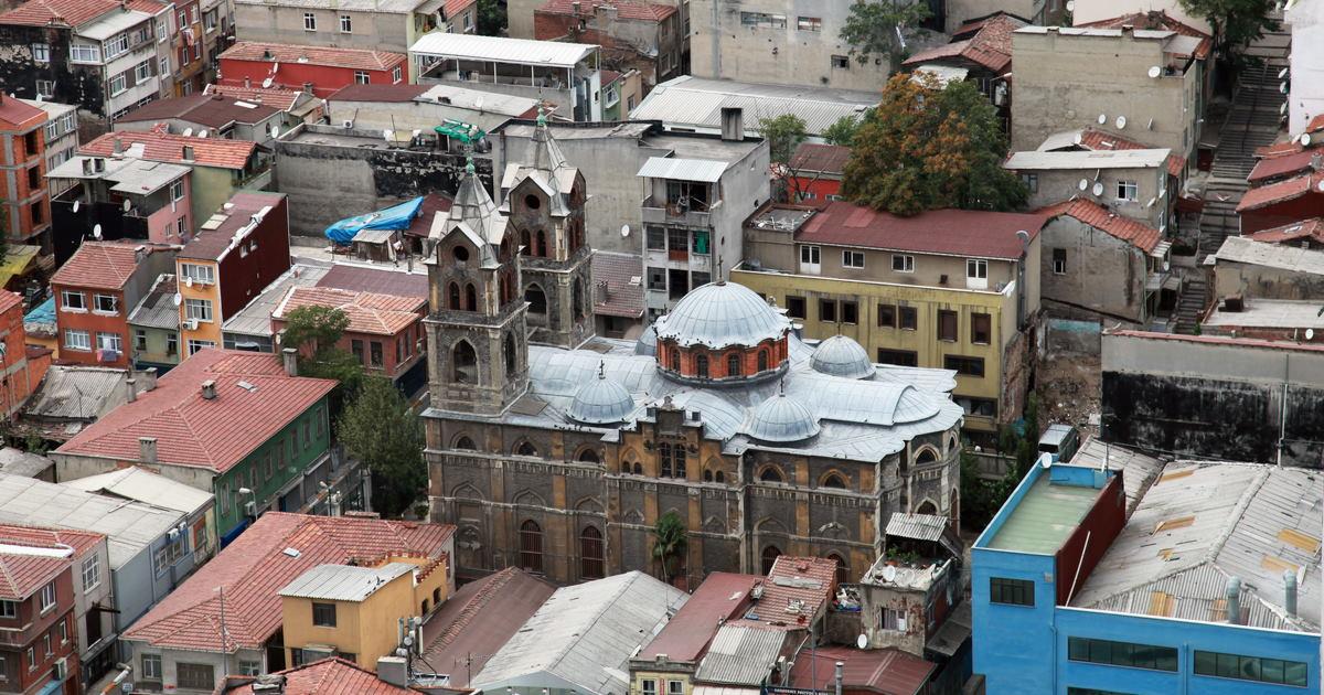Panagia Elpida Church in Istanbul