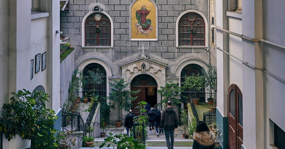 Santa Maria Draperis Church in Istanbul