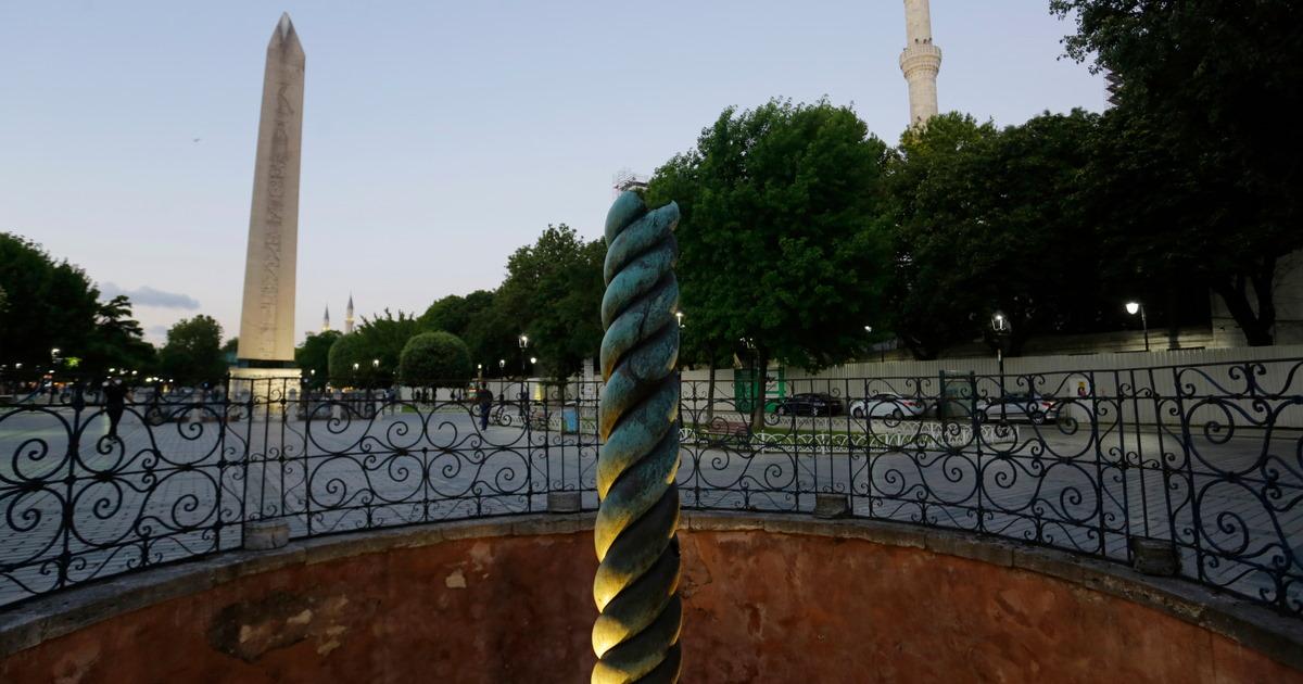 Serpent Column in Istanbul