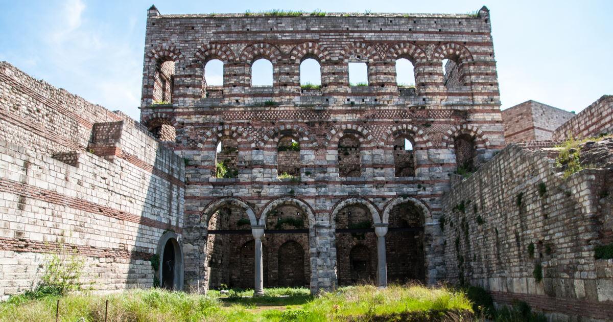 Tekfur Palace in Istanbul