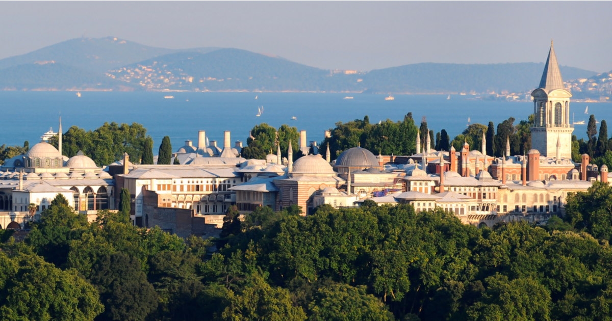 Topkapi Palace in Istanbul in Turkey 2