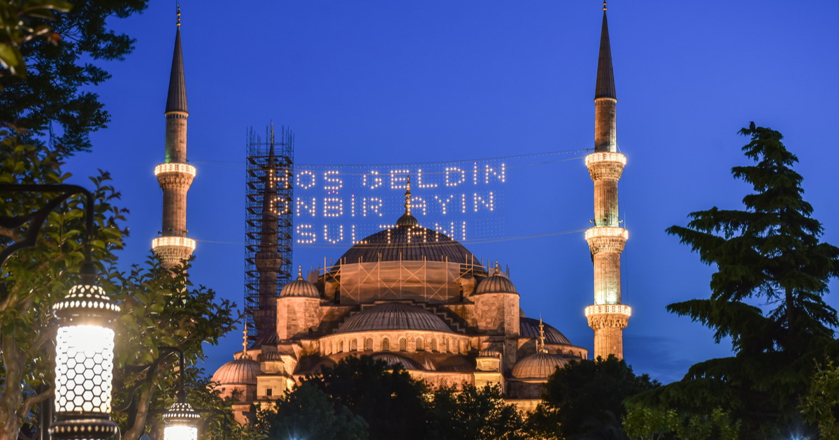 Travel to Istanbul for Ramadan