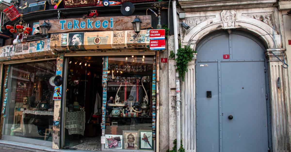 Yanbol Synagoge in Istanbul in Turkey