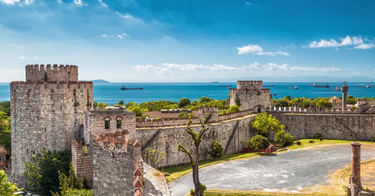 Yedikule fortress in istanbul