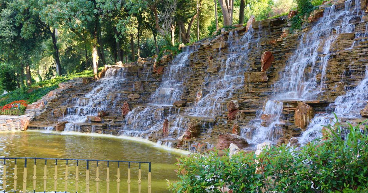 Yıldız Park in Istanbul in Turkey
