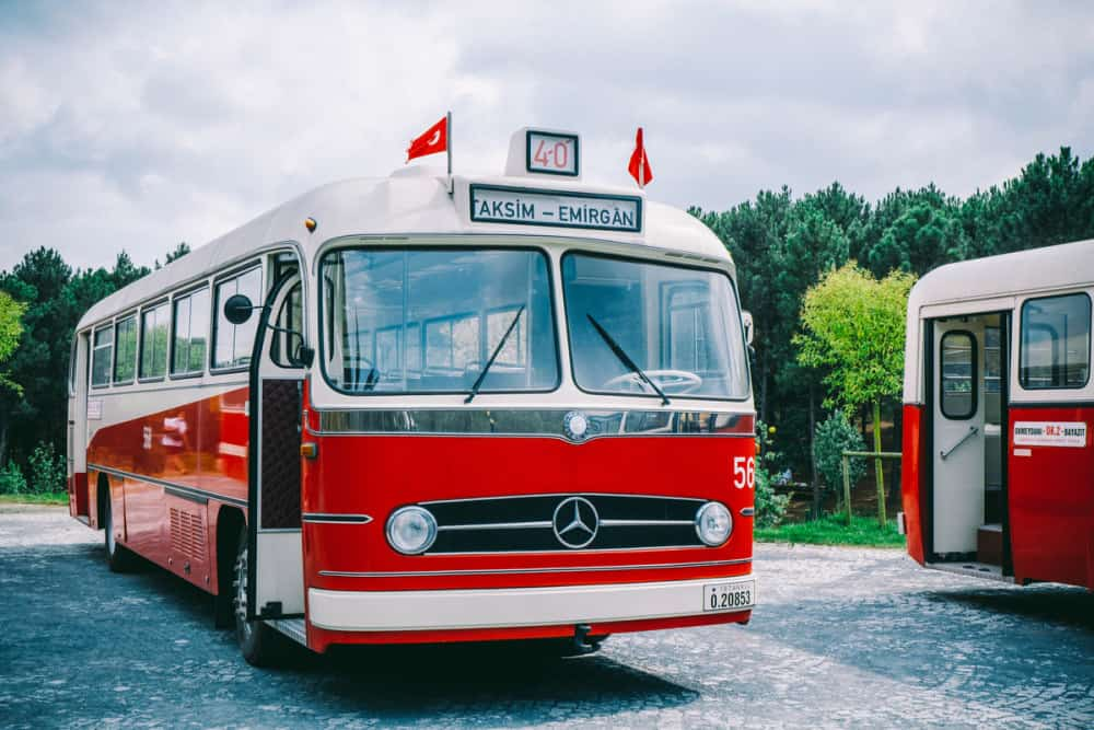 Step back in time on a vintage bus in Istanbul